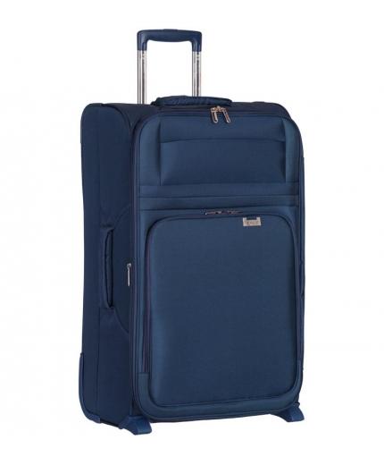 Cestovní kufr AEROLITE T-9515/3-L - tmavě modrá - 2. jakost