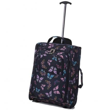 Kabinové zavazadlo CITIES T-830/1-55 - butterfly - 2. jakost