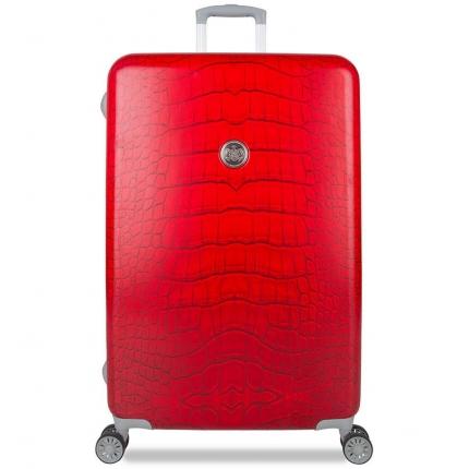 Cestovní kufr SUITSUIT® TR-1239/3-L - Red Diamond Crocodile - 2. jakost
