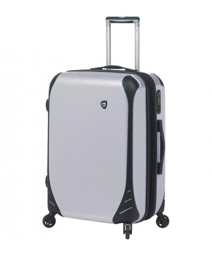Cestovní kufr MIA TORO M1021/3-M - bílá - 2. jakost