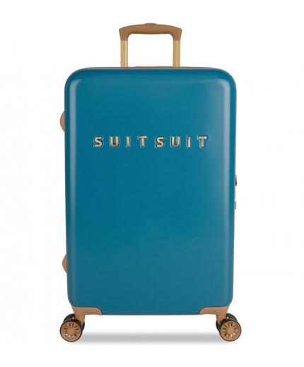 Cestovní kufr SUITSUIT® TR-7102/3-M - Fab Seventies Seaport Blue - 2. jakost