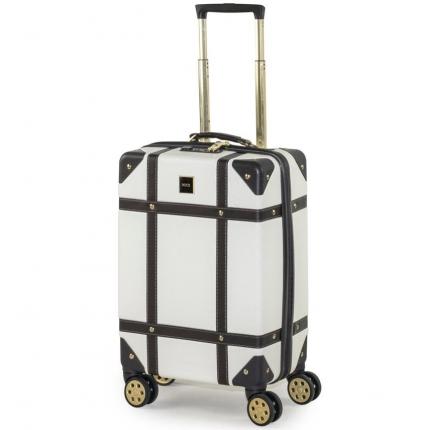 Kabinové zavazadlo ROCK TR-0193/3-S ABS - krémová - 2. jakost